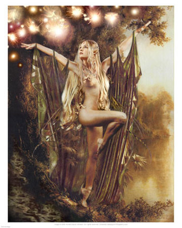 Elven Fairy Magic Print at Art.
