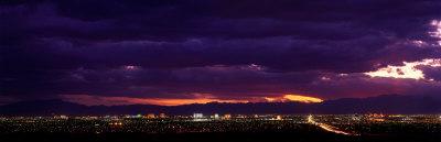 Storm, Las Vegas, Nevada, USA Stretched Canvas Print