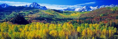 San Juan Mountains, Colorado, USA Stretched Canvas Print