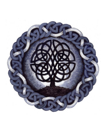 celtic tree of life images. The Celtic Tree of Life Giclee