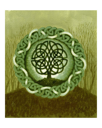 celtic tree of life images. Celtic Tree of Life II Giclee