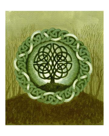 celtic tree of life images. Celtic Tree of Life II Giclee