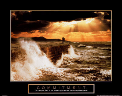Commitment Couple Print at