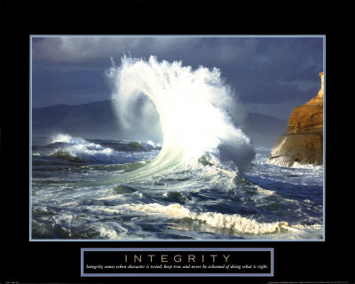 Integrity: Wave Print at Art.