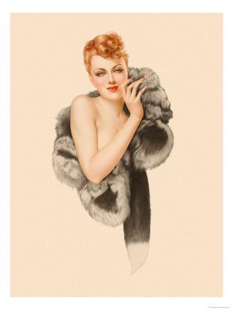 Varga Girl December 1941 Alberto Vargas Art Print From $19.99 $12.99