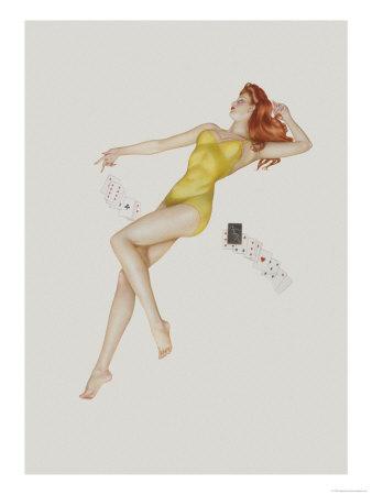 Varga Girl July 1942 Alberto Vargas Art Print From $19.99 $12.99