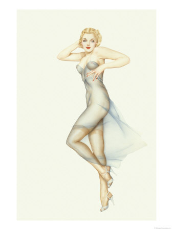 Varga Girl November 1940 Alberto Vargas Art Print From $19.99 $12.99