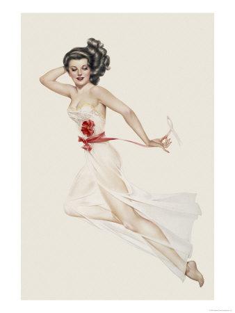 Varga Girl February 1943 Alberto Vargas Art Print From $19.99 $12.99