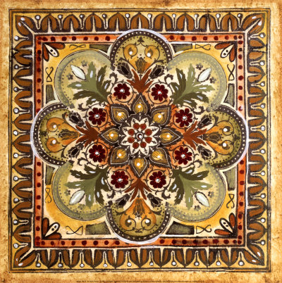 Hand Painted Italian Tiles