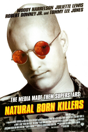 Natural Born Killers poster.