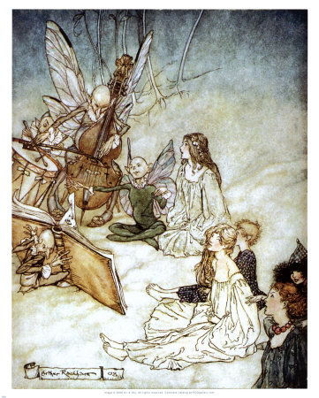 Midsummer Night's Dream Print by Arthur Rackham at Art.