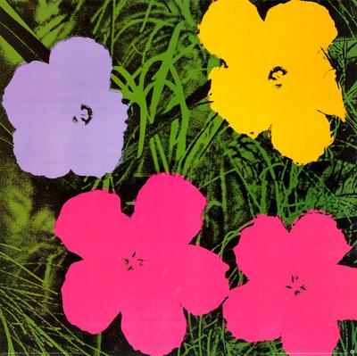 flowers  1970 print