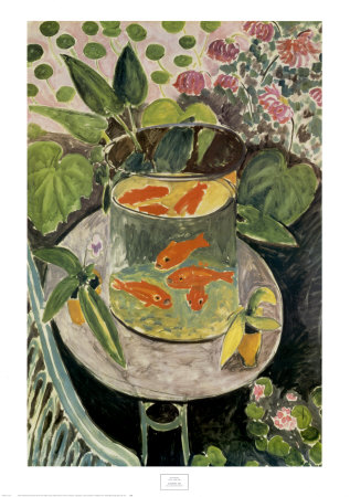 goldfish  1912 print by henri