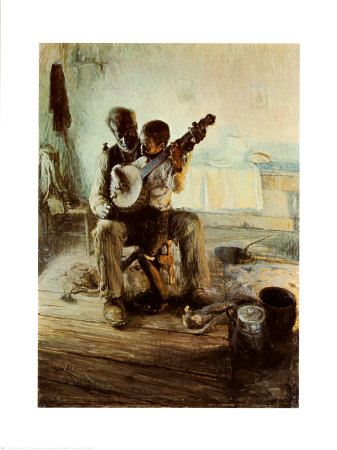 The Banjo Lesson artwork by Henry Ossawa Tanner