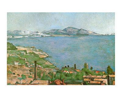 Cezanne  Marseilles Bay