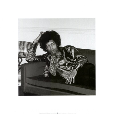 Jimi Hendrix, London, England, 1967 Print at Art.com