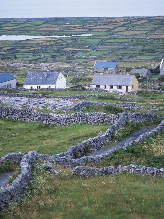 Inishmore, Aran Islands, County Galway, Connacht, Eire (Republic of Ireland) Stretched Canvas Print