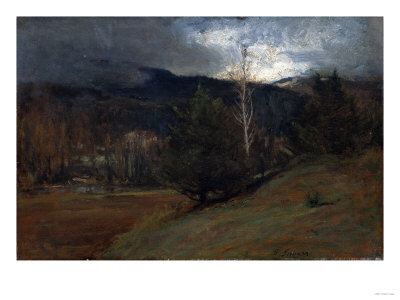 November in the Adirondacks, Circa 1885 Giclee Print