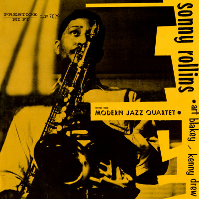 SONNY ROLLINS - SONNY ROLLINS with the Modern Jazz Quartet Premium ...