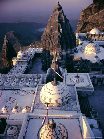Jain Holy Hill and Temple Complex, Mount Girnar, Junagadh ...