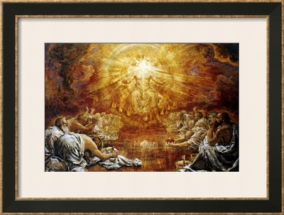 The Four and Twenty Elders, 1911 Framed Giclee Print by Henry John ...
