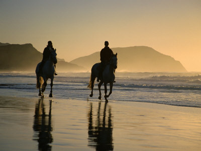 d h webster horse riding on the beach at sunrise gisborne east coast north island new zealand pacific Top 10 Romantic Date Ideas
