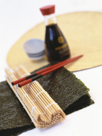 Utensils for Preparing Sushi Photographic Print by Peter Medilek ...