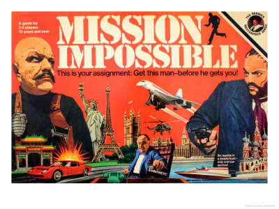 mission impossible game. Mission Impossible Game Premium Poster