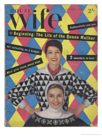 1950s housewife magazine
