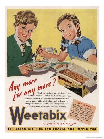 1940s weetabix advertisement