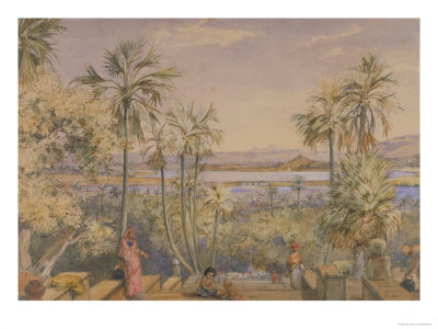 The Strait Between the Islands of Bombay and Salsette from a Portuguese Church Bandra, India Giclee Print