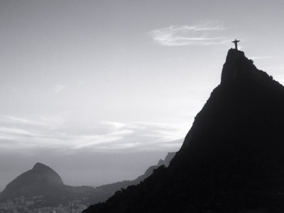Corcovado Statue, Rio de Janeiro, Brazil Stretched Canvas Print
