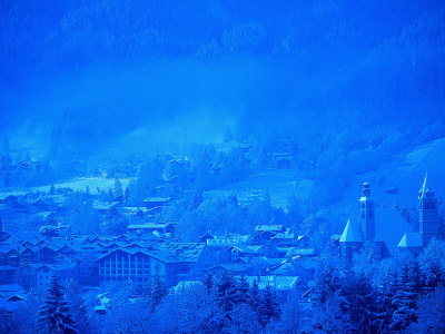 Kitzbuhel, Austria Stretched Canvas Print