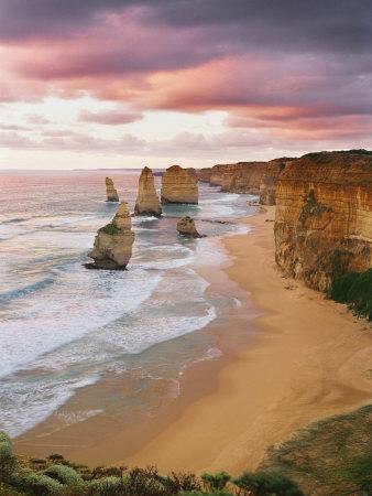 12 Apostles, Victoria, Australia Stretched Canvas Print