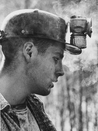 18 Year Old Coal Miner Ray Martin Near Islom, Kentucky Stretched Canvas Print