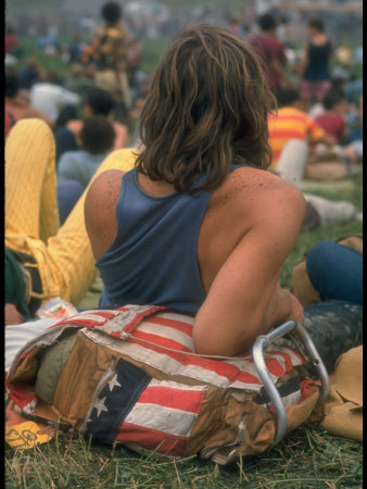 Woodstock Stretched Canvas Print