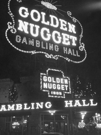 The Golden Nugget in Las Vegas Since 1905 Stretched Canvas Print