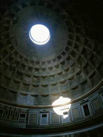 The Pantheon&#39;s Oculus Photographic Print by Taylor S. Kennedy at Art.