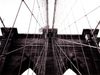 Brooklyn Bridge Stretched Canvas Print