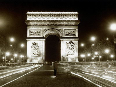 France Paris, August 1960 Stretched Canvas Print