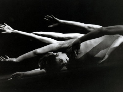 The Royal Ballet Production of Laborintus, November 1972 Stretched Canvas Print