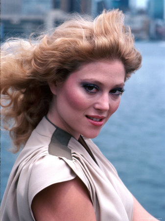 Actress Audrey Landers Stretched Canvas Print