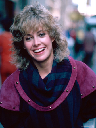 Actress Catherine Hicks Stretched Canvas Print