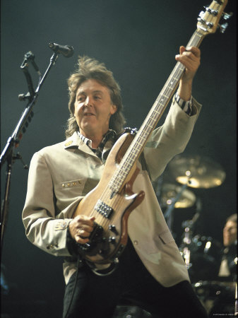 Paul McCartney Stretched Canvas Print