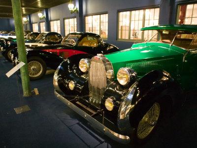 Musee National de l'Automobile, Bugatti Grille, Haut Rhin, France Stretched Canvas Print