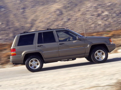 96 Jeep Grand Cherokee Limited Photographic Print by Harvey Schwartz at Art.