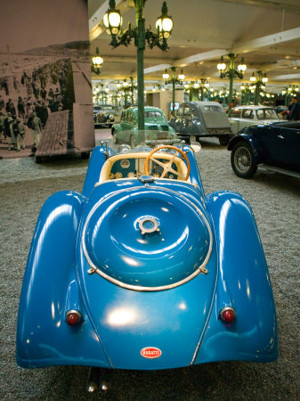 Musee National de l'Automobile, Bugatti Grille, Haut Rhin, France Stretched Canvas Print