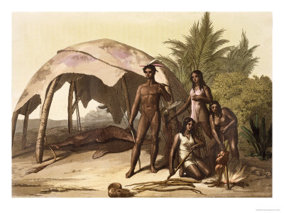 The Charrua Indians of Uruguay Giclee Print by Gallo Gallina at Art.