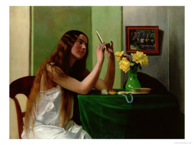 At the Dressing Table, 1911 Giclee Print by Felix Vallotton at Art.