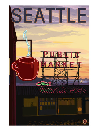 Pike Place Market Sign and